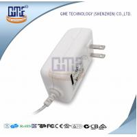 Quality AC DC 12V 2A Power Adapter , US Overseas Plug Adapters CEC Level VI for sale