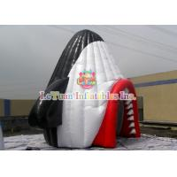 Best Durable Airtight Tent , Colorful Inflatable Party Tent With Shark Mouth wholesale