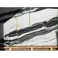 Quality Black And White Lighting Natural Marble Tile And Slab , Marble Floor And Wall Tiles for sale