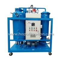 Quality HOPU Vacuum Hydraulic Turbine Oil Filtration  Used Oil Recycling Oil Purifier machine for filtrate impurities and Dehydr for sale