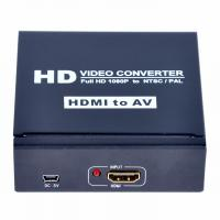 Quality  to AV+L/R Audio Converter Supports DVI input mode for sale