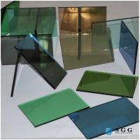 Quality China 4mm 5mm 6mm dark green blue grey bronze reflective glass price for sale