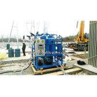 Quality Mobile Design Vacuum Transformer Oil Reclamation Machine, insulation oil regenerator, recycling working for power plant for sale
