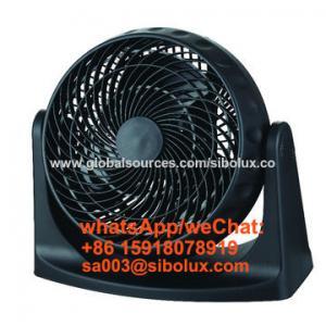 Quality 8'' 35w Mini Portable plastic box fan with 360-degree rotary louver/8 inch Ventilador de caja for sale
