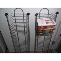 Quality CD Metal Tall Narrow Wire Shelving Tower With Extra Large Storage Capacity for sale