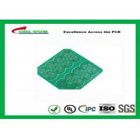 Quality 1 Layer CEM 1 PCB 1.6mm 1OZ Green Solder Mask E-TEST with Fiducial Marks for sale