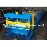 China Iron Rolling Mill Roofing Sheet Roll Forming Machine 7.5kw Hydraulic Control on sale