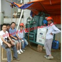 Quality Transformer Oil Treatment Plant,Vacuum Insulation Oil Purifier,onsite training Project in Bangladesh for sale