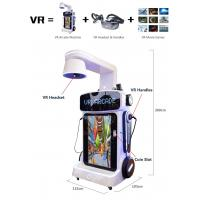 Quality All Aging Virtual Reality Theme Park VR Magic Box Machine With Update Shooting Games for sale
