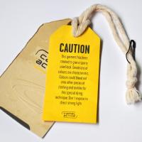 Quality Hang Tag ,Customize Size Craft Paper and Coated paper With Customize Color, Deboss Logo For Tide brand for sale