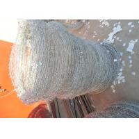 Quality Q195 High Tensile Barbed Wire , Double Strand Barbed Wire For Security Fence for sale