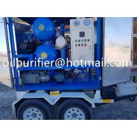 Quality Mobile Trailer transformer oil purification machine, onsite fieldwork oil treatment unit, movale oil processing plant for sale