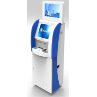 Buy cheap Dual Screen 3.4GHz Free Standing Vending Machines 220V with Fingerprint from wholesalers