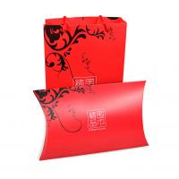Quality Customized Good Quality Foldable Pillow Shaped Style Packaging Paper board Silk Scarf Gift Box for sale