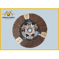 Quality ISUZU CYZ Clutch Disc 430*10 1312408921 Friction Facing Three Cooper-bases for sale