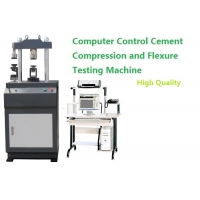 Quality Stand Type Black Gray Cement Compression and Flexure Testing Machine for sale