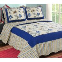 Quality Printed Embroidery bedroom beautiful comforter sets with frame for sale