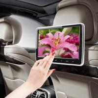 Quality 10 Inch Seatback Car LCD Screen HD With Dvd Player UV Painting IR FM Transmitter for sale