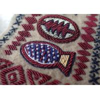 China Hand Made Embroidery Designs Patches , Military Uniforms Emboired Patches on sale