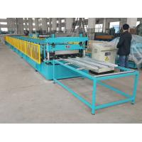 Quality Galvanized Steel Closed Type Floor Decking Sheet Roll Forming Machine for sale