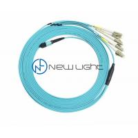 Quality 8F MPO To LC MM 50/125um PVC 3.0mm MPO MTP Cable for sale