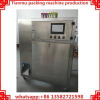 Quality stand up plastic bag filling and capping machine for sale