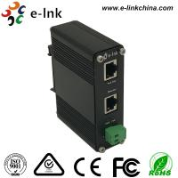 Quality 12-48VDC Power Input Industrial Gigabit POE+ Injector, Standalone, Support Din-Rail and Wall Mounting for sale
