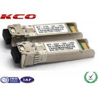 Best 20KM 10GB Single Mode Simplex LC Connector SFP Fiber Optic Transceiver With DDM wholesale