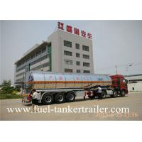 Tri - axle Fuel Tanker Trailer FOR oil transportation tanker
