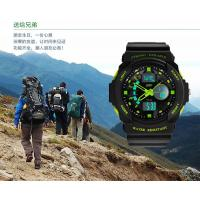 Quality Customized Analog Digital Wrist Watch With El Backlight LCD Display for sale