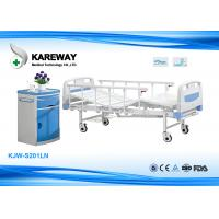 Buy cheap Lightweight Manual Hospital Bed , Hospital Adjustable Bed 250 Kgs Weight from wholesalers