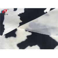 China Faux Fur Animal Printing Fabric 100% Polyester Velvet Fabric Home Textile on sale