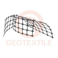 Quality Track Stabilization Geo Mesh For Retaining Walls , 3.95m Biaxial Integral Geogrid Products for sale