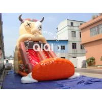 Quality Big-Mouthed Celestial inflatable slide for sale
