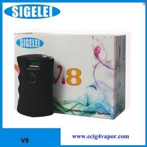 Quality Sigelei V8 mod ecig for vapor manufacturer supplier for sale