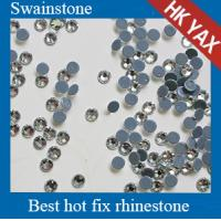 China YAX factory price SS10 Montana Color Low lead hot fix rhinestone crystals,low lead rhinestone,lead free rhinestone on sale
