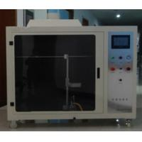 China High Precision Textiles And Films Fire Resistance Tester Automatic Ignition System on sale