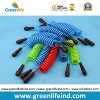 Quality Colorful Safety Children Spring Coil Ropes Ready for Wrist Bands for sale