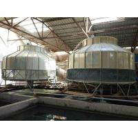 Quality FRP Body Counter Flow Open Water Cooling Tower Low Power Consumption for sale