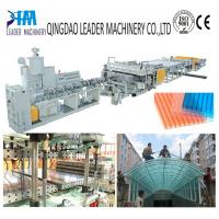 Quality Greenhouse polycarbonate hollow roofing sheet extrusion machine for sale