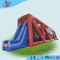 China Zipline Customized Inflatable Dry Slides For Children Playground on sale