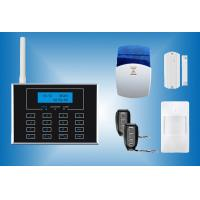China PSTN and GSM Alarm System with touch keypad and wireless doorbell CX-GSM4 on sale