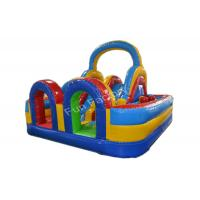 Best Custom Air Inflatable Combo Spacewalk Bounce House With Blower wholesale
