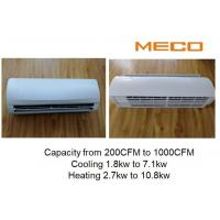 Quality Apartment High Wall Fan Coil Unit 200CFM With Wireless Remote Controller for sale