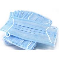 Quality Single Use Non Woven Face Mask Environmental Friendly Help Limit Germs Spread for sale