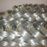 Quality 2.4mm Galvanized Binding Steel Wire , Thin Silver Galvanized Iron Wire for sale