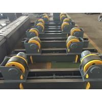 Quality 20t Pipe Turning Rolls Conventional Welding Rotator Drive By 1.1kw Motor Power for sale