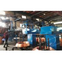 Quality Annnual 5000MT D8-15mm Copper Rod Upcasting Process Oxygen Free Continuous Casting Machine for sale