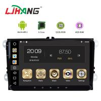 Quality Android 8.1 Car Dvd Player For Volkswagen Canbus Radio GPS 3G WIFI USB Map for sale