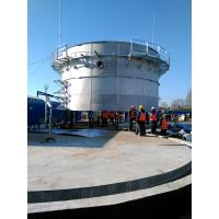 Food Industry Waste Bolted Steel Tanks , Stainless Steel Storage Tanks